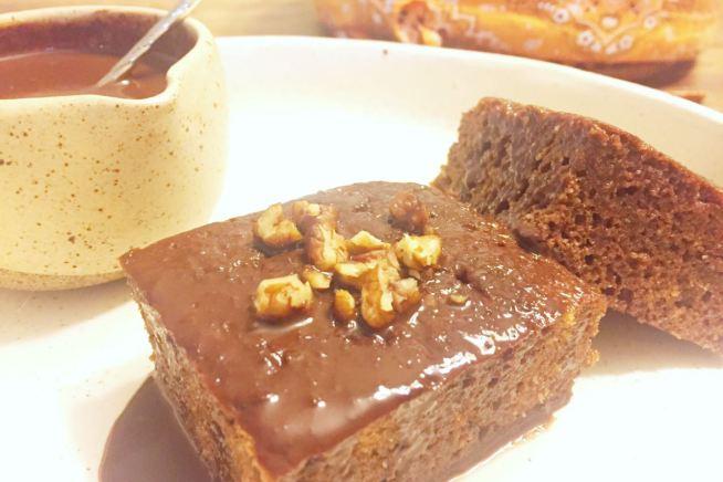 low carb cafe da manha bolo chocolate
