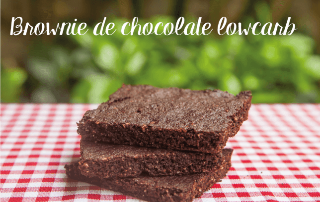 Receitas Low Carb Doces brownie